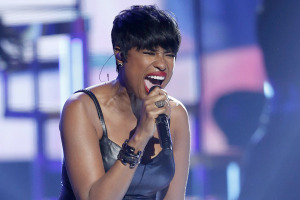Jennifer Hudson performs a medley of songs during the 2014 BET Awards in Los Angeles
